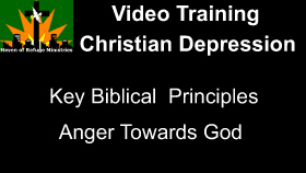 Anger towards God