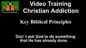 Key Principles to Freedom from Addiction