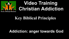 Addiction anger towards God