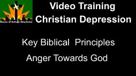 Anger towards God